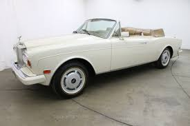 1987 rolls royce corniche ii convertible beverly hills car club