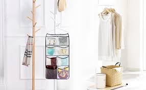 amazon com misslo durable hanging closet double sided bra