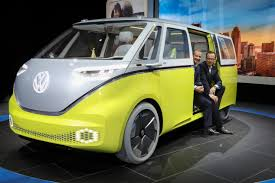 van volkswagen hippie detroit auto show 2017 5 cars suvs magic minivan vw bus with