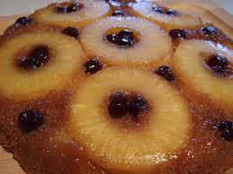 pineapple upside down cake her yellow apron