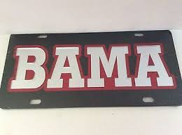 of alabama alumni car tag 144 best products images on auburn tigers car tags