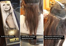she hair extension everything you need to about clip in hair extensions