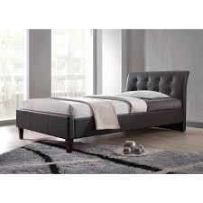 Abbyson Living Hamptons King Size Platform Bed by Make A Glamorous Statement With This Twin Size Bed U0027s Curved Tufted