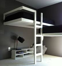 Modern Bunk Bed With Desk Modern Loft Beds Loft Beds For Adults 35 Modern Loft Bed