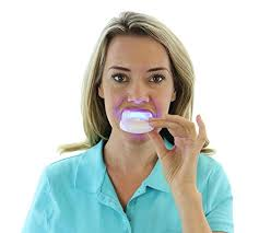 how to use teeth whitening kit with light auraglow teeth whitening kit with led light only 29 99