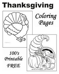 free thanksgiving coloring pages activities thanksgiving