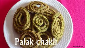 chakli recipe how to chakli usha upchar spinach chakli or palak chakli recipe