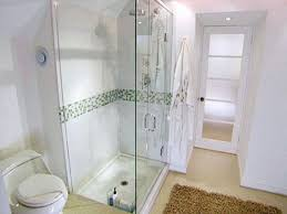 Small Bathroom Walk In Shower Designs Bathroom With Doorless Walk In Shower And Ceramic Tiles Doorless