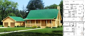 log home floor plans with garage small log homes kits southland log homes