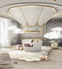 unique canopy beds fantasy air balloon circu magical furniture