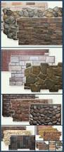 best 25 fake stone wall ideas on pinterest diy interior stone