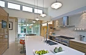 Kitchen Tile Backsplash Kitchen Modern With White Countertop - Magnetic backsplash