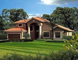 two story classic florida style 32136aa architectural designs