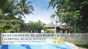 baan chaweng beach resort u0026 spa chaweng beach hotels thailand
