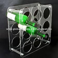 acrylic wine bottle holder manufacturers china acrylic wine
