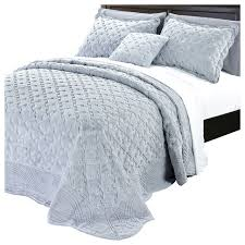 Faux Fur Comforter Queen Tatami Quilted Faux Fur Bedspread Set Contemporary Quilts And