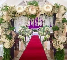 wedding backdrop philippines wedding theme inside the church kilig