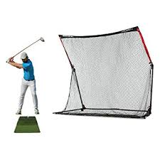 Golf Driving Nets Backyard by Amazon Com Rukket 4pc Golf Bundle 10x7ft Spdr Driving Net