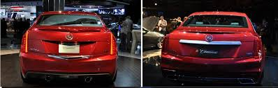 compare cadillac ats and cts ats versus cts picture comparison