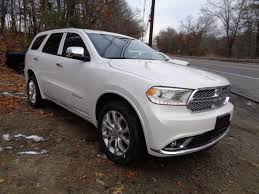 2017 dodge durango citadel in db black crystal clear coat for sale
