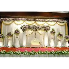 wedding stage decoration flowers decoration wedding stage at rs 15000 unit wedding stage