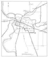 Map Of Sacramento California City Maps At Americanroads Com