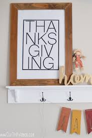 thanksgiving poster free printable our thrifty ideas
