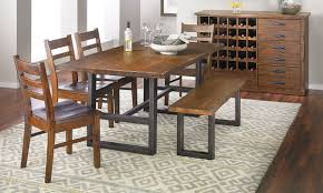 wallace ii pine dining set the dump america u0027s furniture outlet