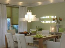Crystal Light Fixtures Dining Room - contemporary dining room with droplet crystal chandelier and
