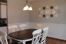 top 5 ideas of wall decor for kitchen midcityeast lovely dining room with modern table set under chandelier plus plate wall decor