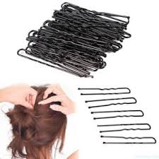 hair grips 50pcs u shaped bun hair pin clip hair grips black wavy salon hair