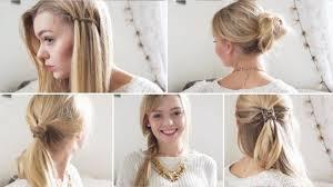 Frisuren Selber Machen F Lange Haare by Schnelle Einfache Frisuren Für Lange Haare Zum Selber Machen