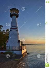 chautauqua lighthouse stock image image of chautauqua 75143923