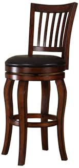 24 Bar Stool With Back Buy Roundhill Solid Wood Swivel Bar Stools With Back 24 Inch