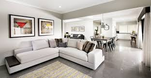 display home interiors wellard display home perth industrial living room perth by