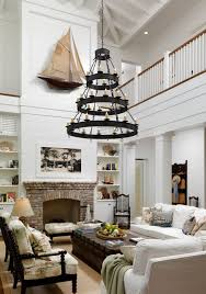 Best  Two Story Fireplace Ideas On Pinterest Large Living - Two story family room decorating ideas