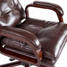 homcom high back pu leather executive reclining office chair w