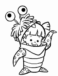 monsters inc coloring pages boo monsters inc coloring pages boo allmadecine weddings monsters