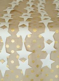 gold star table runner 13 summer party hacks a subtle revelry