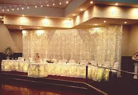 wedding backdrop with lights backdrops glow event decor