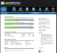 staff leave planner template leave monitor how to apply for leave through leave monitor