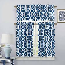 duck river blue kitchen curtains for window jcpenney