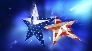 Blue Flag With Stars Old Faded Usa American Flag In Stars Youtube