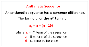 arithmetic sequences solutions examples videos worksheets