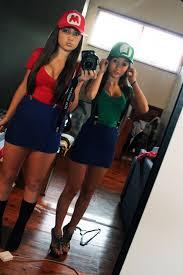 Mario Luigi Halloween Costume Fan Girls Halloween Costume Halloween Costumes