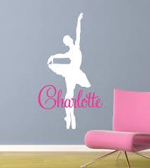 ballerina dancer wall decal vinyl art sticker zoom