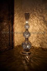moroccan floor lamp unrealistic home desires pinterest