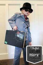 Spy Costumes Halloween Thrifted Gentleman Spy Diy Halloween Costume Happy Housie