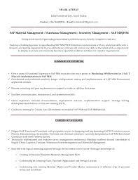 Sample Resume For Sap Mm Consultant Shaik Afthaf Sap Mm Wm Consultant Resume