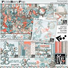 pickleberrypop bundles collections butterfly kisses bundle